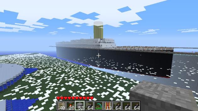 Карты Для Майнкрафт Титаник На Дне Океана