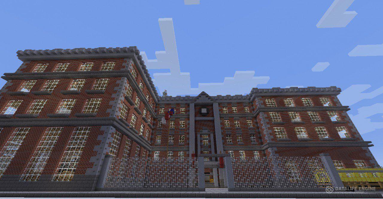 скачать карту на майнкрафт 1.5.2 на закрытая школа #6