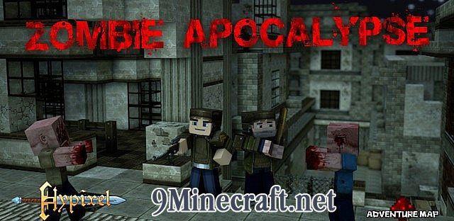 скачать карту в майнкрафт зомби апокалипсис город с оружием