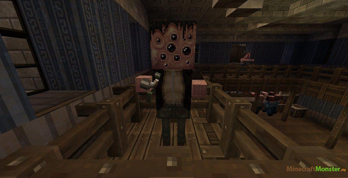 скачать карту зомби апокалипсис для майнкрафт 1.8 #10