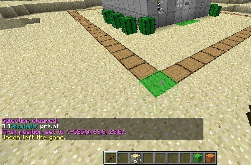 Как сделать в minecraft территорию в 848