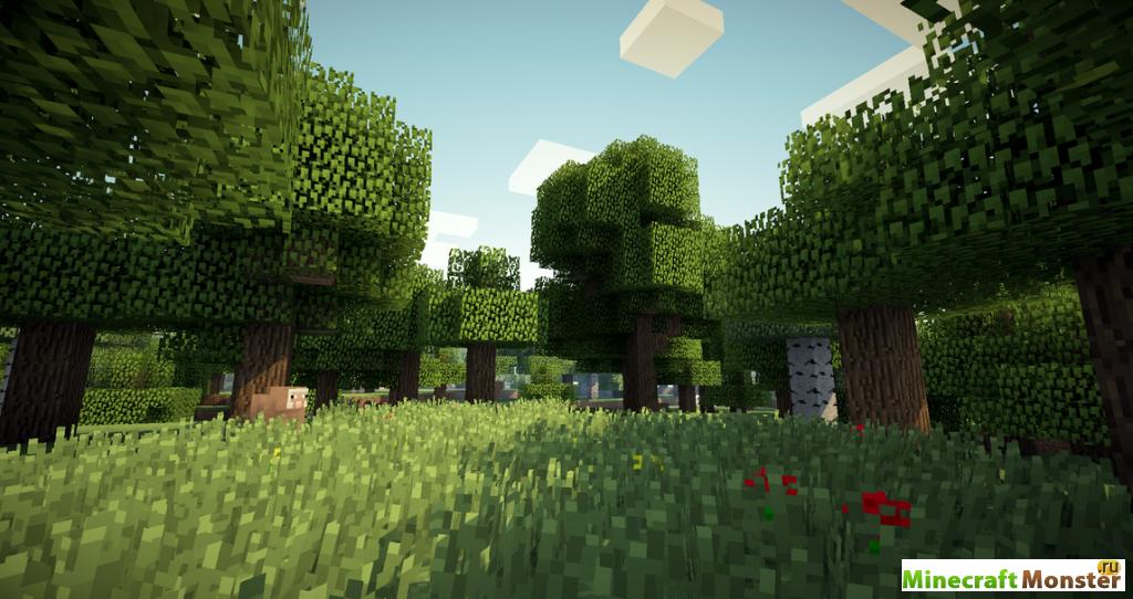Шейдеры для Minecraft / Minecraft Inside
