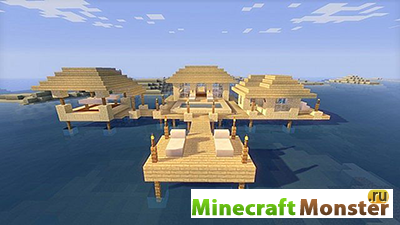 Карта HOUSE OF WATER [MCPE] [0.8.1]