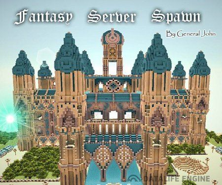 Карта Fantasy Server Spawn для Minecraft