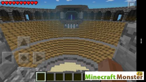скачать карту для minecraft колизей
