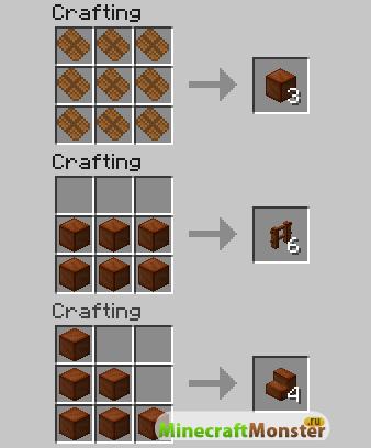 рецепты на minecraft картинки