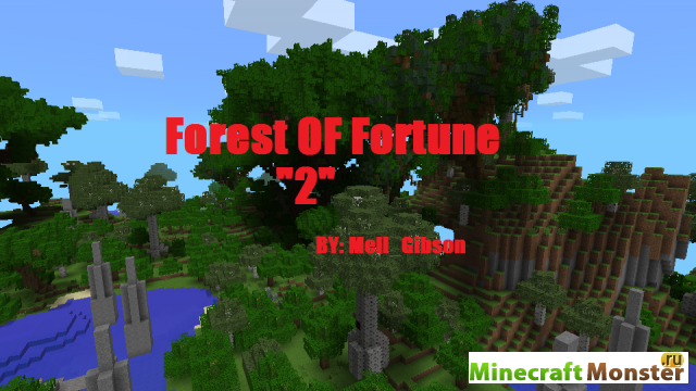 скачать карту майнкрафт лес - фото 2