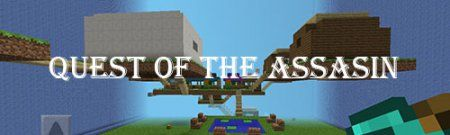 Карта Quest of the Assasin для Minecraft PE
