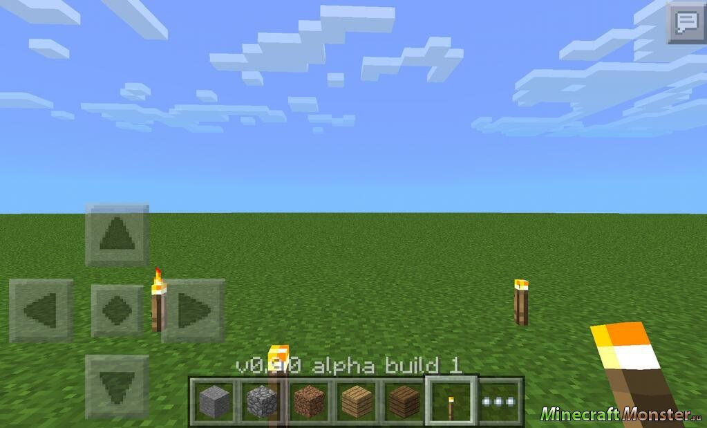Игры майнкрафт версия 0.9.0