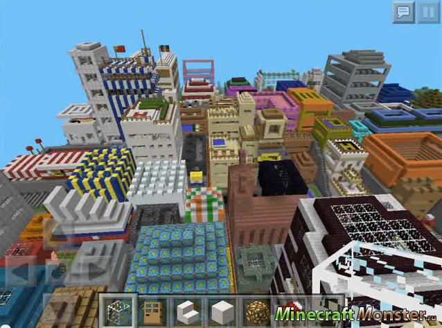 Скачать карты городов для minecraft 1 9 - Играть в