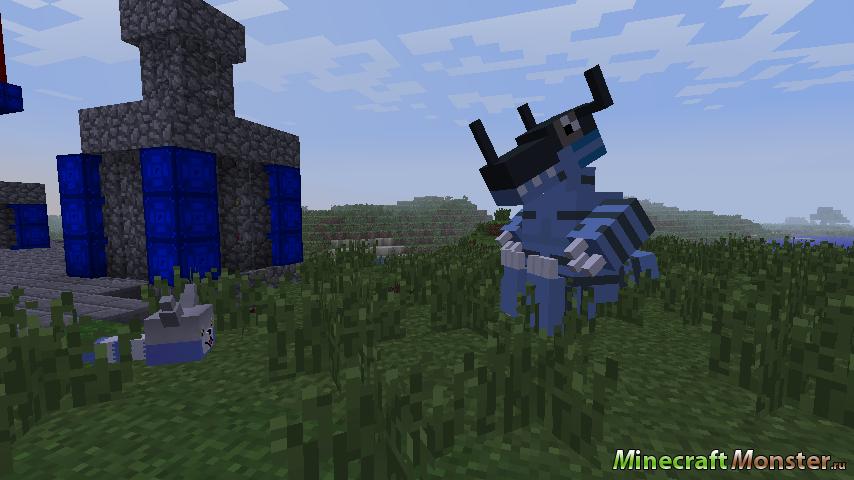 Скачать digimobs для minecraft 1 7 2
