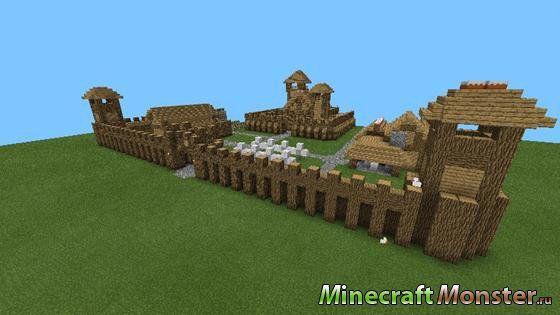 Как делать замок в майнкрафт