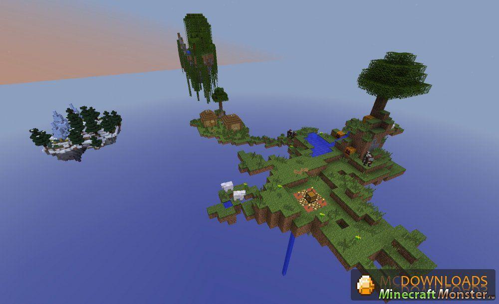 Карты на выживание для Minecraft 1.5.2 скачать бесплатно