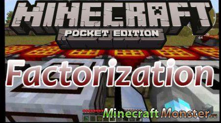 Мод factorisation v3 7 для minecraft pe 0 10 4 0 9 5