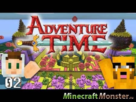 Текстура Adventure Time Craft для Minecraft PE 0.15.6