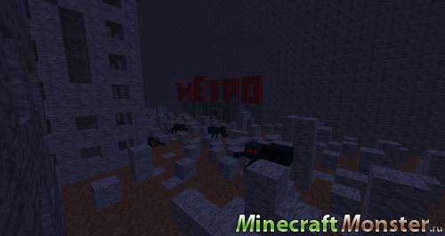 Карта Метро 2033 Скачать Майнкрафт - фото 10