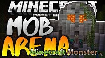 Карта Mob Arena Battles 1: Revamped Edition для Minecraft PE 1.1