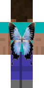 Плащ с бабочкой для Minecraft