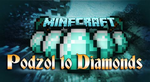 Podzol to Diamonds Mod Minecraft 1.7.2 мод на алмазы