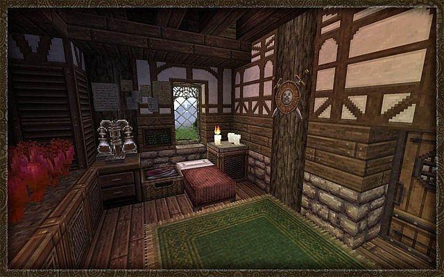 Скачать Ресурс Пак для Майнкрафт Средневековье