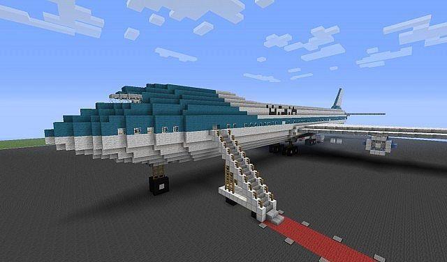 Карта Самолет для Майнкрафт