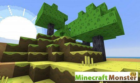 Adventure Time Craft для Minecraft 1.7.2 [x32] текстура