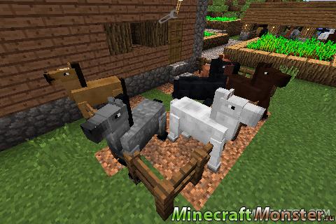 Скачать Майнкрафт с Лошадью