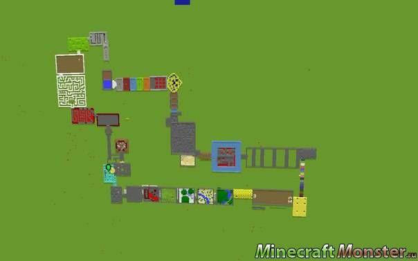 Карты с Испытаниями в Майнкрафт