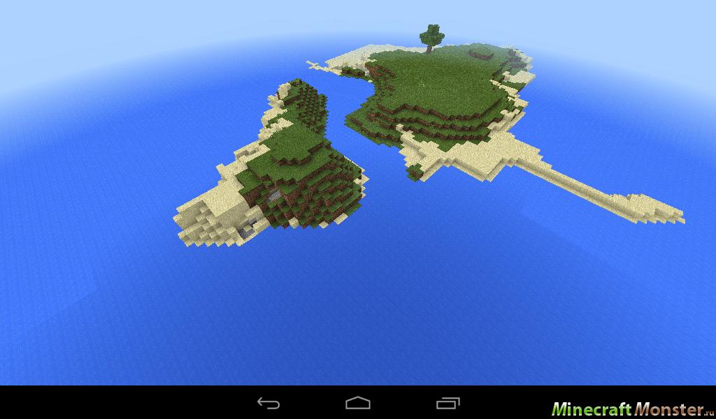 сид на остров майнкрафт 0.14.0