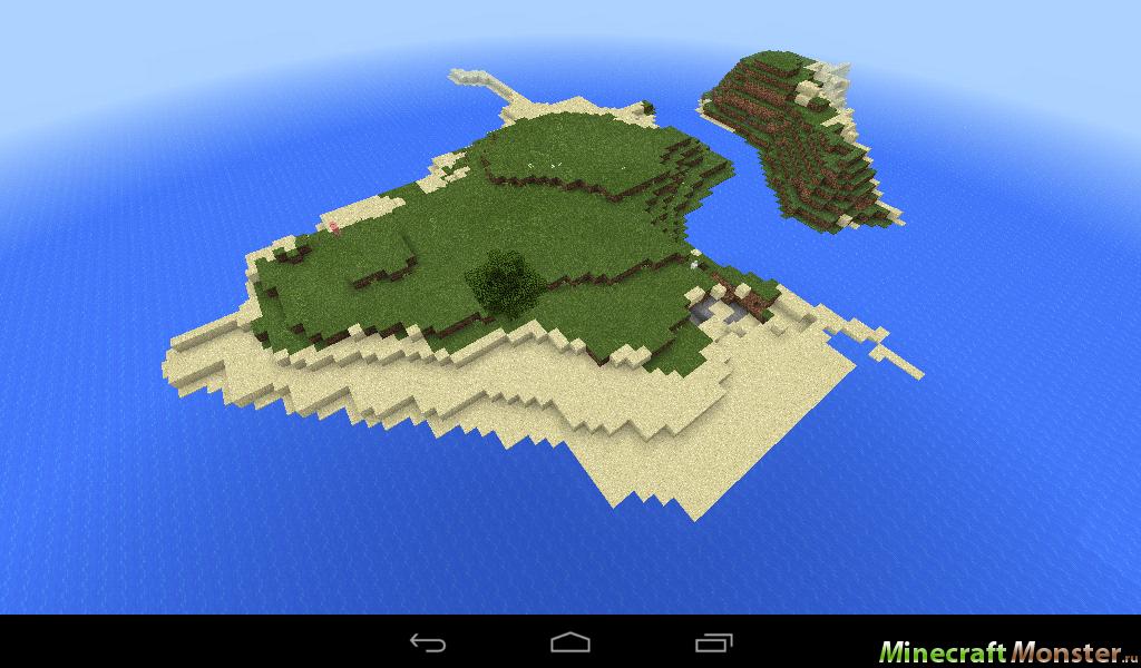 сид на остров майнкрафт 0.14.0 #5