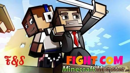 "Карта для Minecraft PE ""FightCom"" 