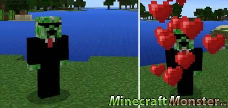 Аддон Creeper Friend для Minecraft PE 0.16.0