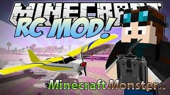 Мод Remote Controlled Aircraft для Minecraft PE 1.0