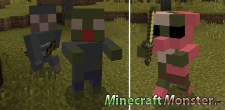 текстура Chibi Craft Texture Pack  для Minecraft PE 1.2