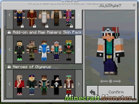 Add-on and Map Makers Skin Pack