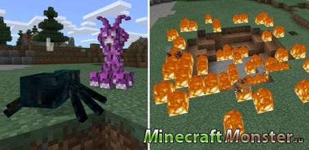 Мод Alien Creeper Addon для Minecraft PE 1.2