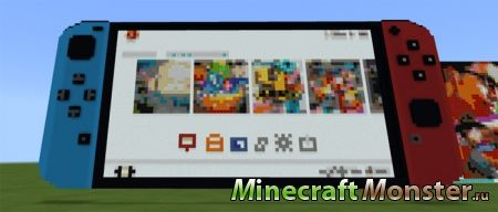 Редстоун карта Working Nintendo Switch для Minecraft PE 1.2