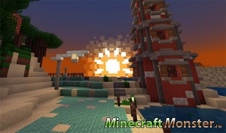 текстура Quadral PE Resource Pack для Minecraft PE 1.4/1.5